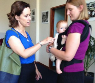 Local parents applauded for taking up the immunisation fight