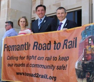 Simone joins Road to Rail at Tier 3 rally