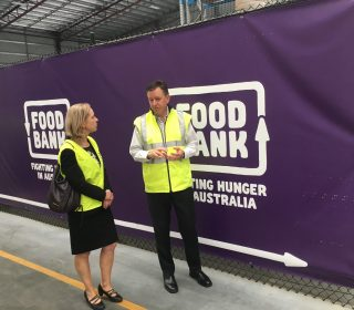Grant supports better co-ordination of food relief