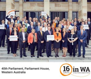 WA parliamentarians unite on stopping domestic violence