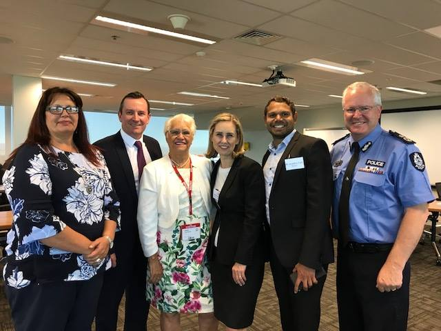 McGowan Government and community sector leaders working together