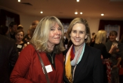 Simone with fellow Impact100 supporter Sarah Cole