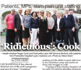 Barnett Government inflicts pain on Freo patients