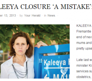 Kaleeya Hospital closes its doors