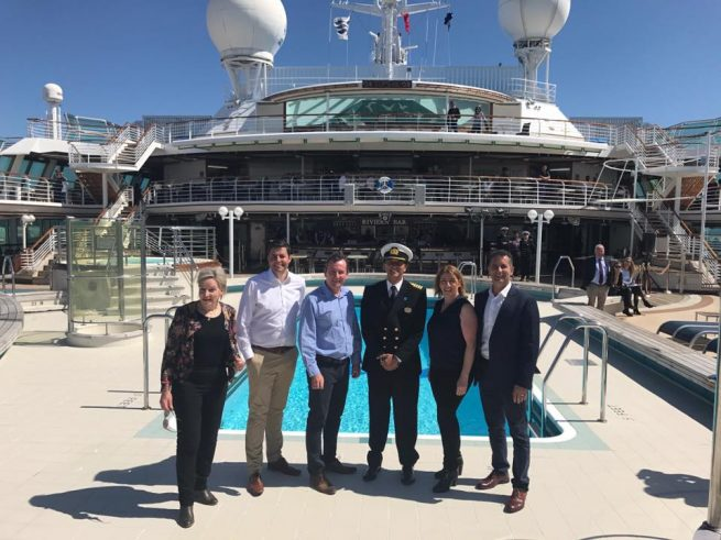 Economic windfall as cruise line commits to record 141 days in WA