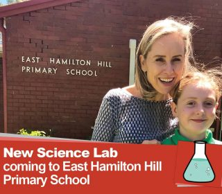 New Science Lab coming to East Hamilton Hill Primary School