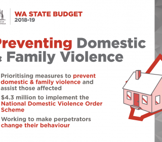 $6.9 million to prioritise measures to help stop family and domestic violence