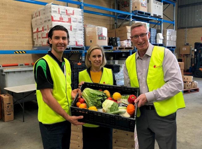 Cash boost to provide healthy food for those in need