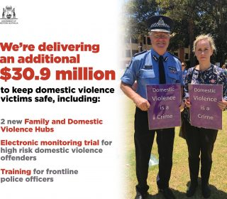 $30.9 million boost to tackle family and domestic violence