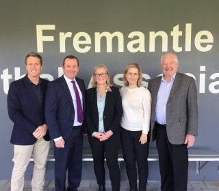 McGowan Government unveils revitalised Fremantle netball hub