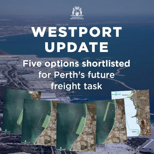 Independent Westport Taskforce releases shortlist of future port options