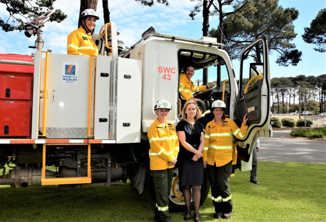 Call for more women in fire management