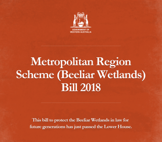 Protection of Beeliar wetlands a step closer to becoming law