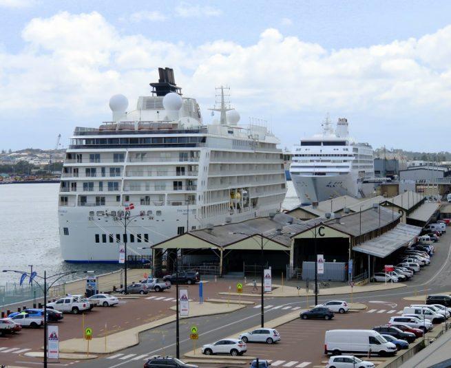 Cruise ships update