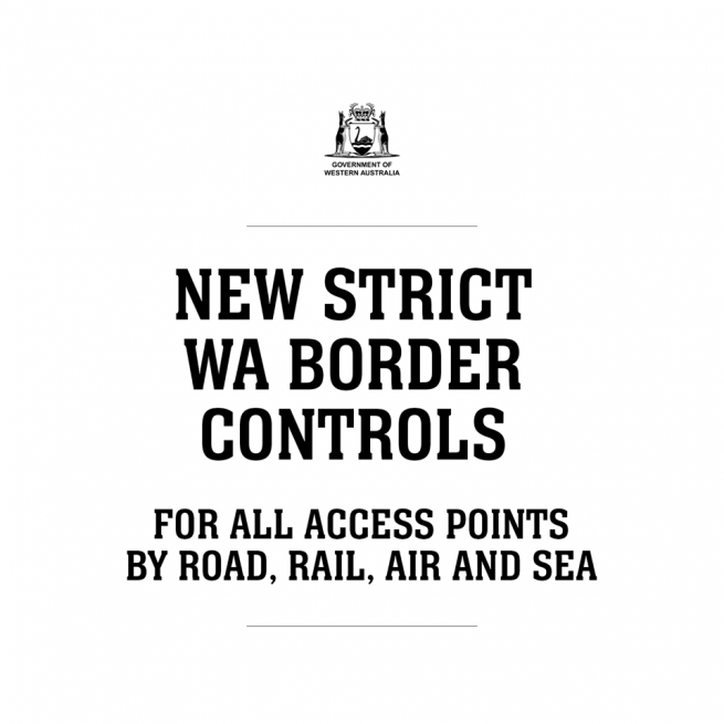 Temporary border closure to better protect Western Australians