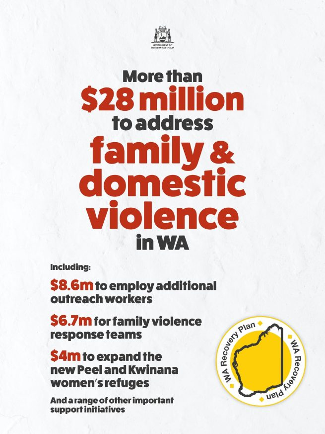Comprehensive package to support WA family violence response