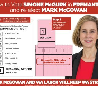 How to Vote for Mark McGowan & Simone McGurk